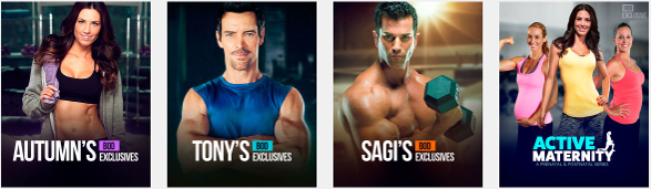 Beachbody On Demand Exclusive Workouts