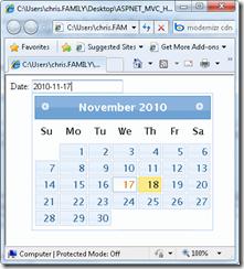 HTML5 Day 5: New Date Input Type <input type=date /> | Chris Pietschmann