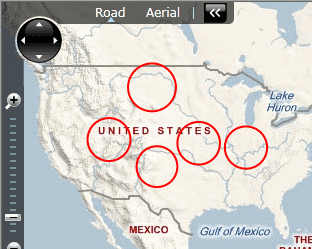 Silverlight Bing Maps: Draw Circle Around a Latitude