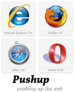 Pushup The Web